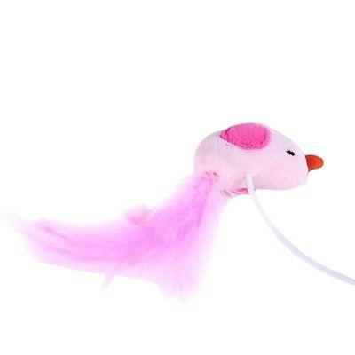 Cat Toys Interactive Bird Wand Toys