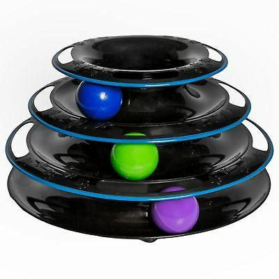 Amazing Cat Roller Toy By Easyology Pets: Super Fun 3-Level