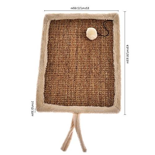 Yunt Cat Cat Sisal Hemp Toy Mat With Ball