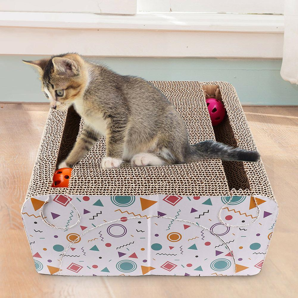 Cat Scratching House Mat Sofa Board Toy