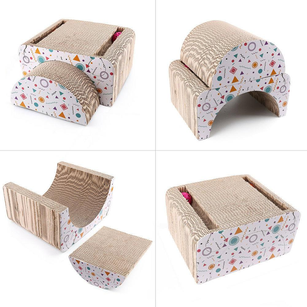 Cat House Mat Board Pad Toy