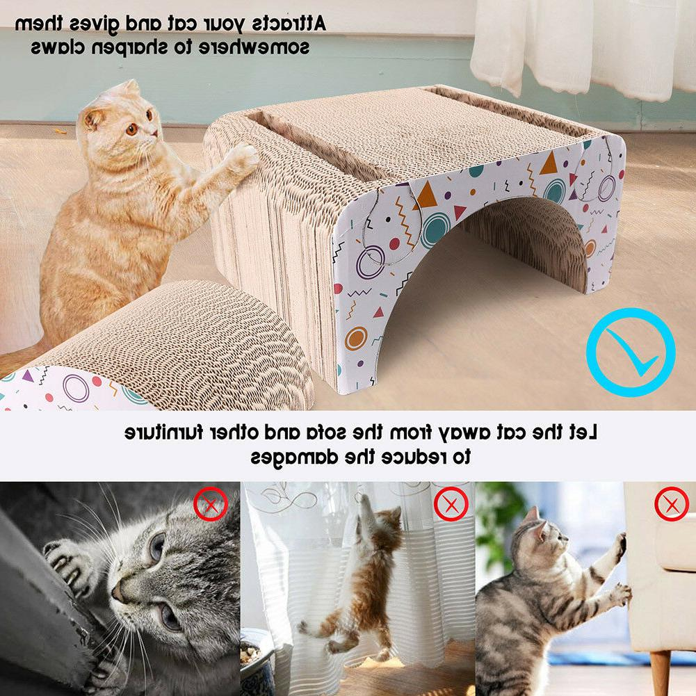 Cat Post House Bed Mat Sofa Board Pad Toy