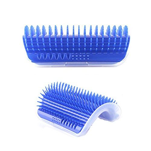 Homiego Self Groomer with Massage Brush Grooming with Fur