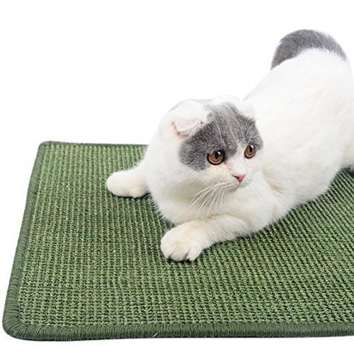 cat sisal scratching mat pet