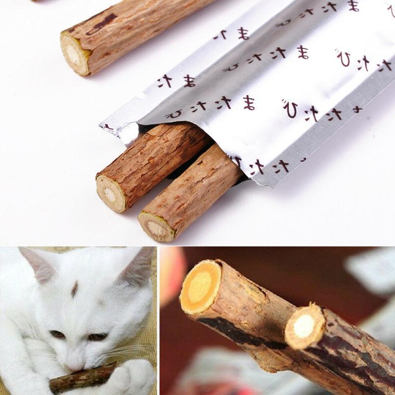 cat snacks matatabi chew catnip