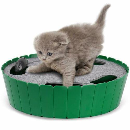 cat toy interactive cat teaser hide