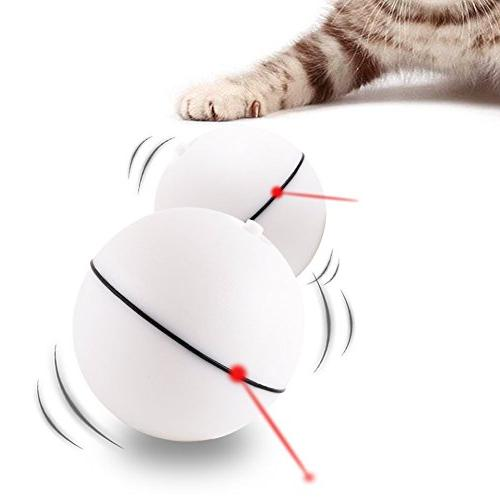 cat toy interactive light ball
