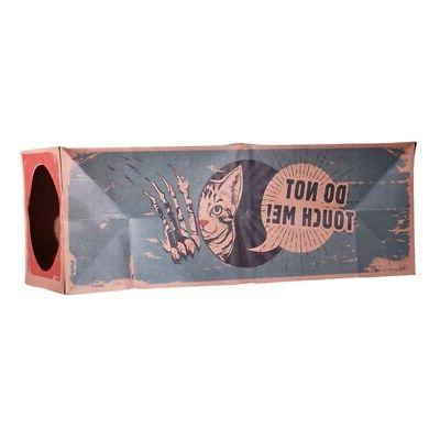 Cat Toys Collapsible Tunnel Paper Bag Tube Toy Kittens