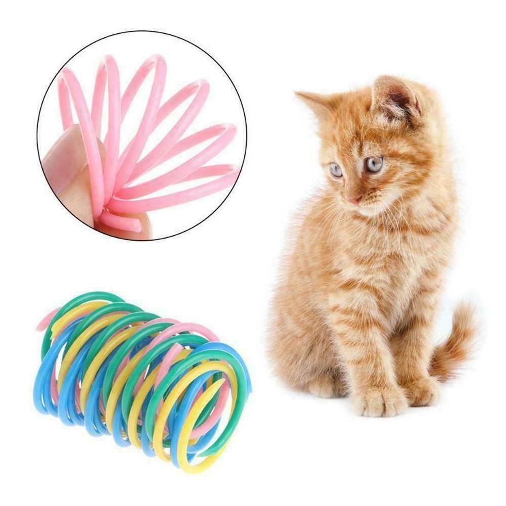 Cat Toys Bounce Kitten Random Color F5J2