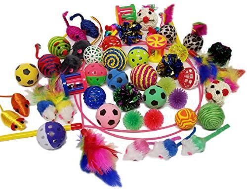cat toys giant variety