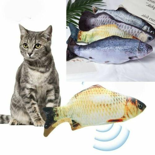 Hot USB Pet Cat Wagging Fish Toys
