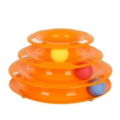Cat Toys Intelligence Triple Play Disc Balls Crazy