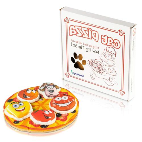 cat toys interactive pizza the only cat