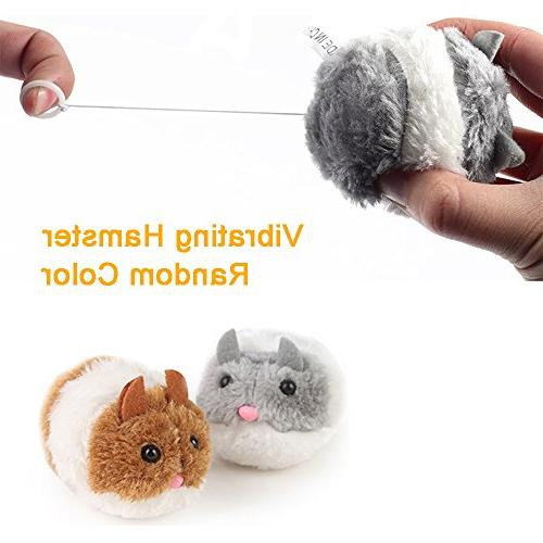 RIO Cat Kitten Toys - Cat Feather Toy, Cat Teaser Wand, Fluffy Mouse, - 20 Pack Kitty