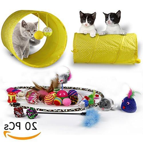 cat toys kitten variety