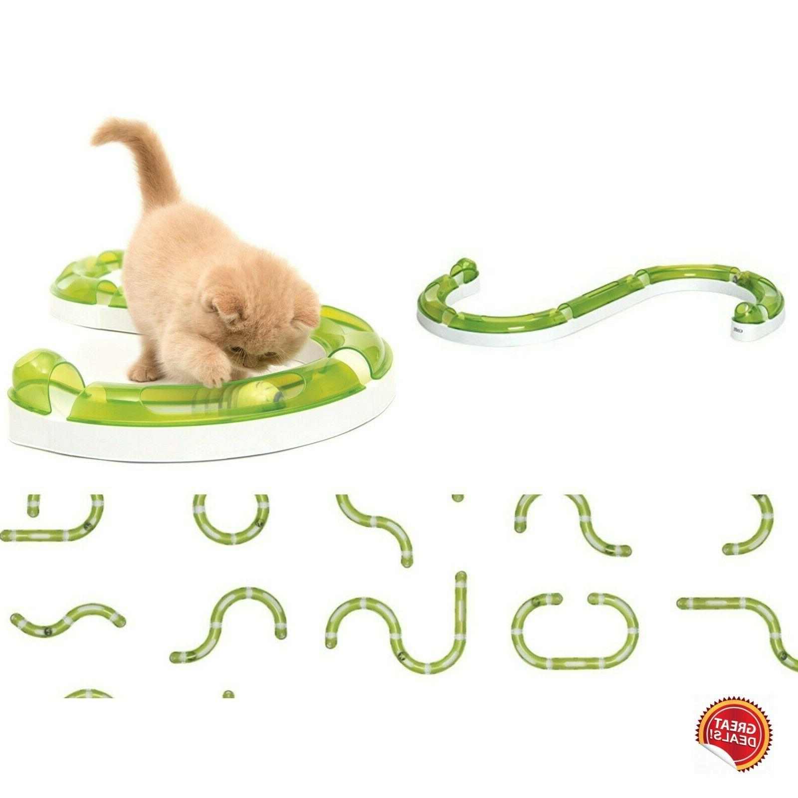 cat toys lot play tunnel tube interactive