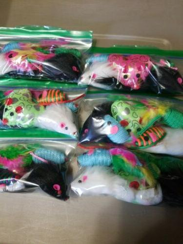 CAT TOYS VARIETY PACK 6 MULTI-COLOR