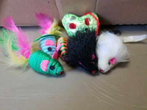 cat toys small mouse variety pack of