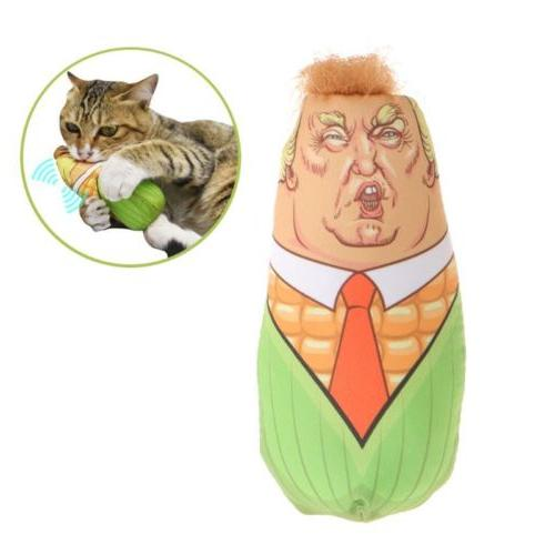 cat toys stuffed plush corn pet kitten