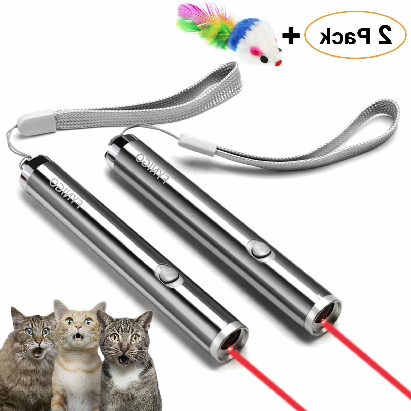Cat Toys Wand,Interactive Light Toy for Cats and Dogs Free D