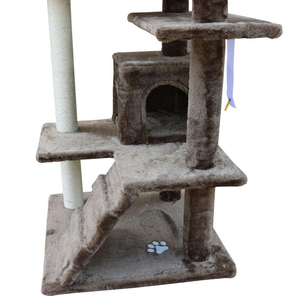 Cat Furniture Kitten Tower Kitty Scratching Toys