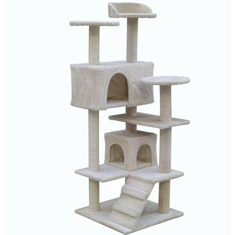 Cat Furniture Kitten House Play Tower Toys