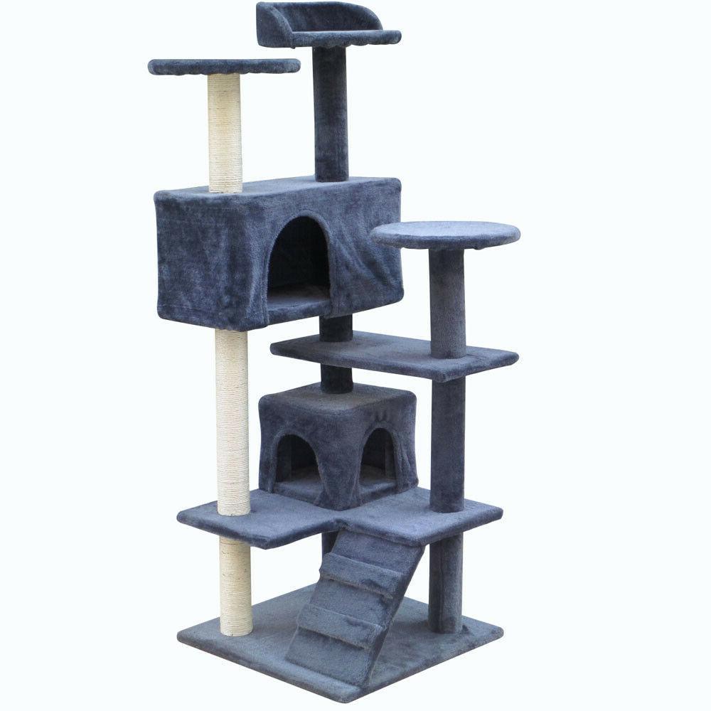 "Cat Tree 51"" Condo Furniture Kitten House Play Tower Kitty S"