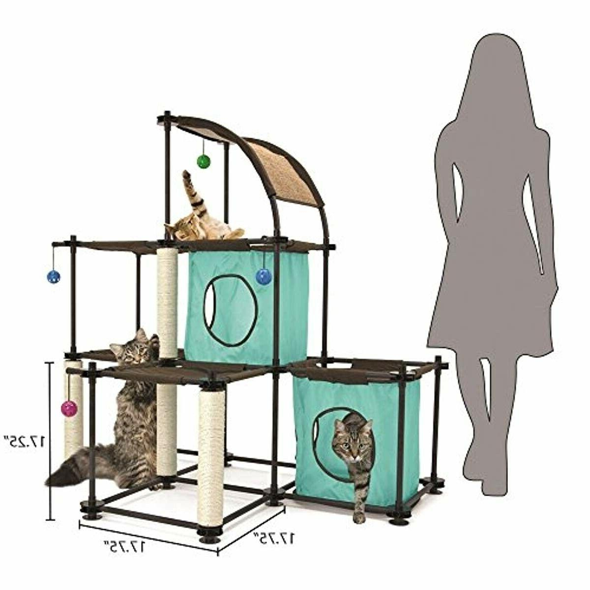 Cat City Claw Mega Kit Furniture Toy Bed Scratching Post