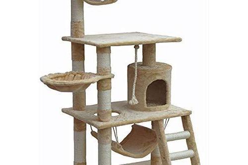 Go Cat Tree Condo Beige