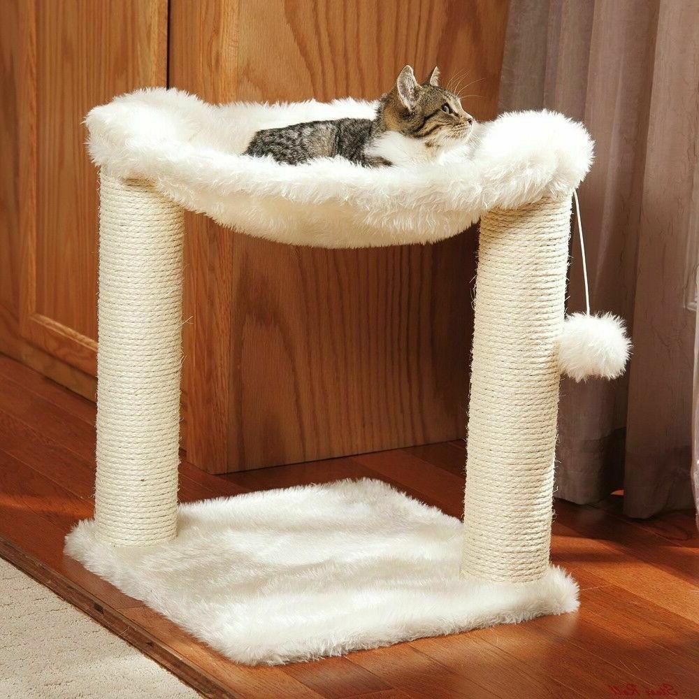 cat tree condo scratcher bed