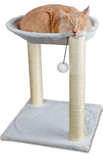 Cat Tree Scratch Post House Net Bed Furniture Toy