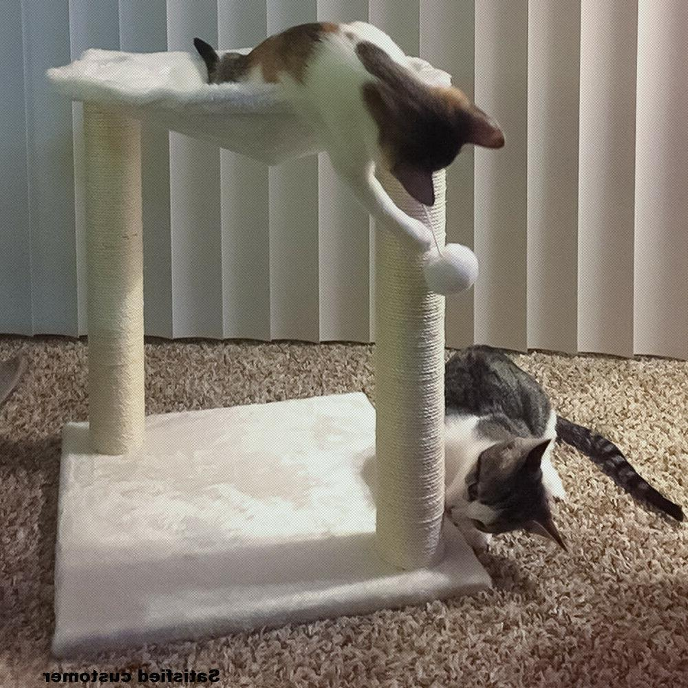 Cat Tree Hammock Scratch Post Furniture for Toy