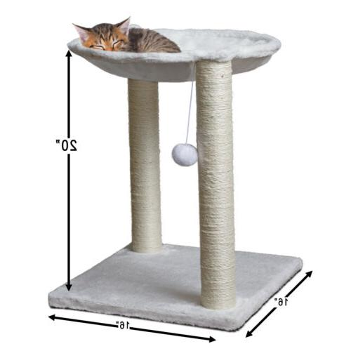 Cat Tree Post House Net Furniture Play