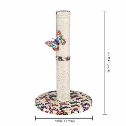 Cat House Furniture Kitty Scratching Post Toys Carpet
