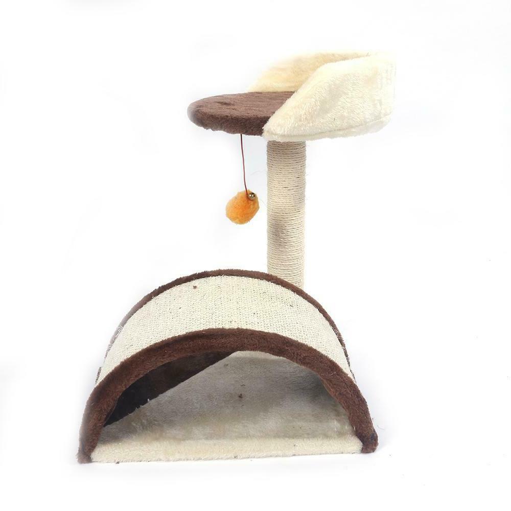 Cat Tree Activity Center Tower Plush Ball