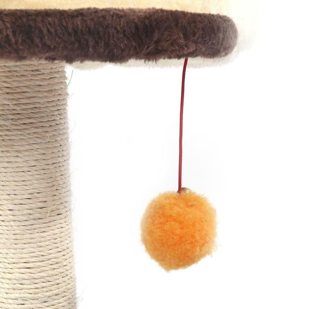 Cat Tree Scratching Activity Center Tower Plush