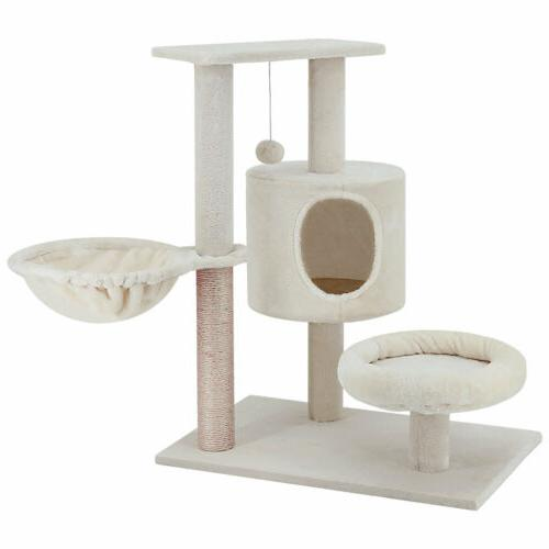 ScratchMe Tree with & Scratching Post Pet Play House with