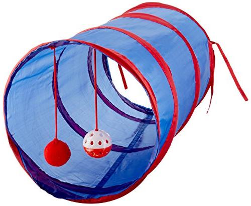Cat Tunnel with Dangle Toys-Package Quantity,12