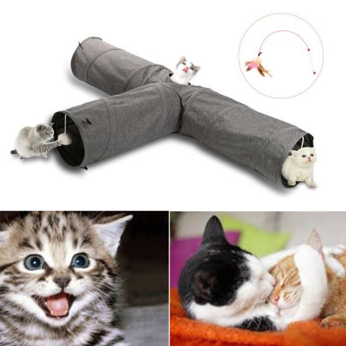 Cat Soft Toy Nest Kitty Collapsible Peek Hole