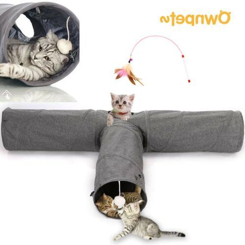 Cat Kitty Pets Collapsible Peek Hole