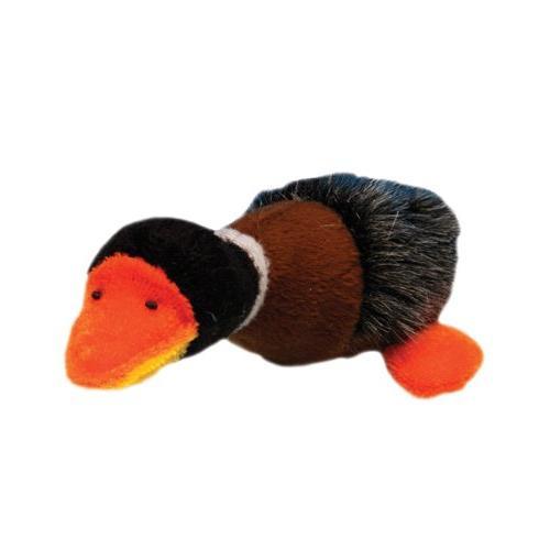 cat411 plush fur duck cat