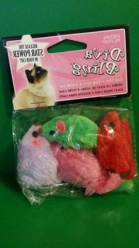 cat501 suede mouse catnip toys