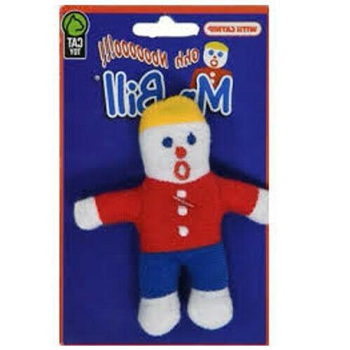catnip mr bill cat toy