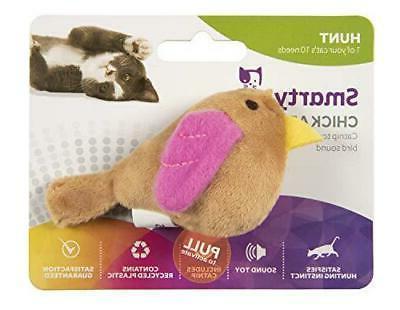chickadee chirp cat toy