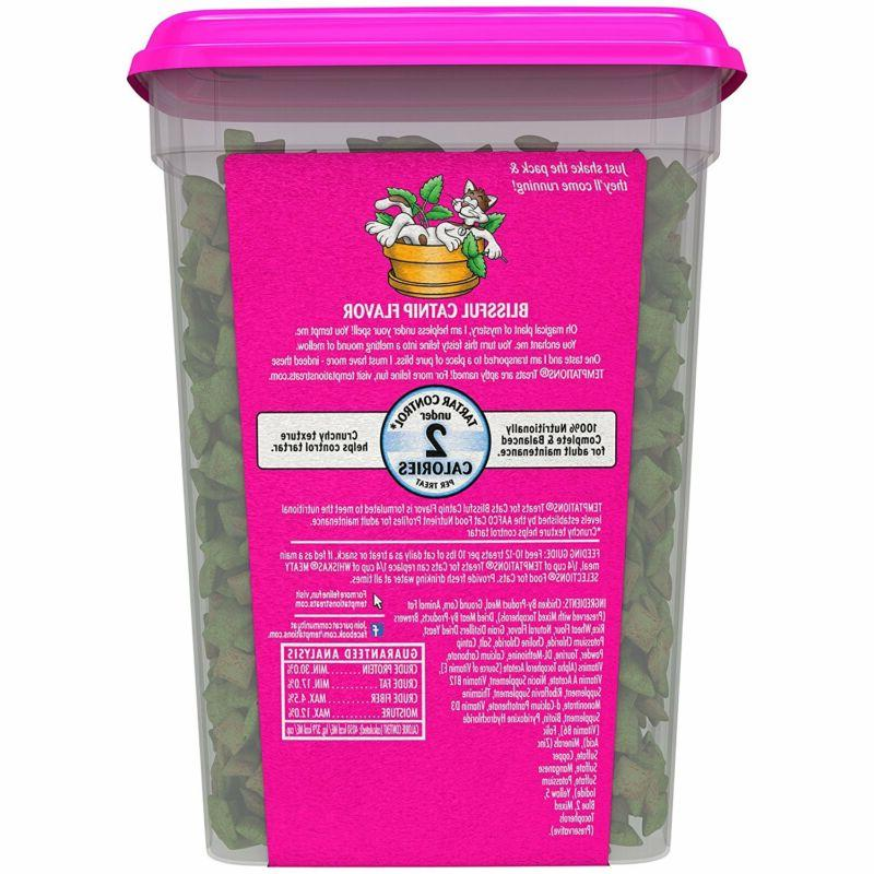 Temptations Treats For Cats Blissful Catnip Flavor 16 M