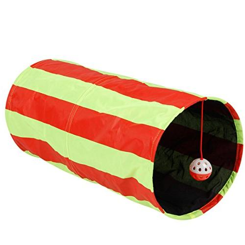Pet Tunnel Toys Tunnels and Crinkle Design for Other by