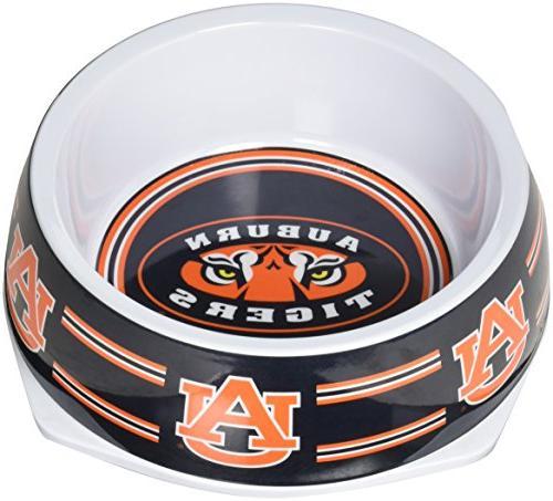 collegiate auburn tigers pet bowl