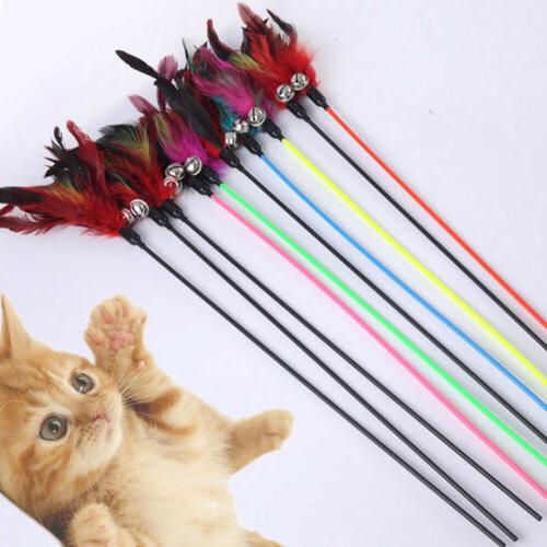 Colorful Cat Toys With Small Color Cat Stick