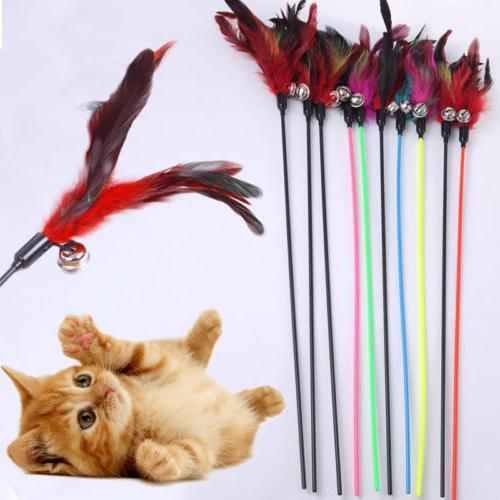 Colorful Toys With Color Cat Stick 1PC