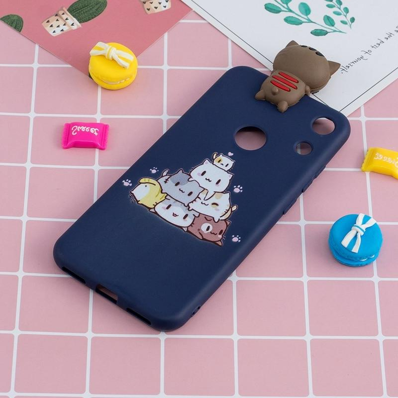 For Coque Huawei Honor 8A Silicon Cartoon Unicorn Cover 8A JAT-LX1 Honor8a